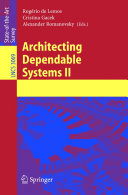 Architecting Dependable Systems II