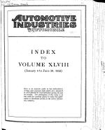 Automotive Industries  the Automobile PDF