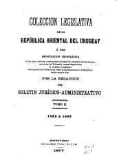 Colección legislativa de la República Oriental del Uruguay: Volumen 2