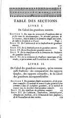 La science du calcul des grandeurs en général, ou les elemens des mathématiques...