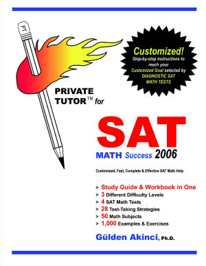 Private Tutor for Sat Math Success 2006 PDF