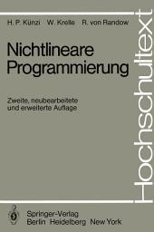 Nichtlineare Programmierung: Ausgabe 2