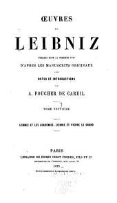 Oeuvres de Leibniz: Volume7