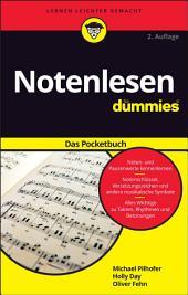 Notenlesen f?r Dummies Das Pocketbuch: Ausgabe 2