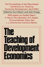Teaching of Development Economics