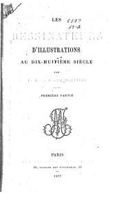 Les dessinateurs d'illustrations au dix-huitième siècle: Volume1