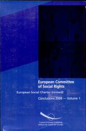 European Social Charter (revised): Conclusions 2008, Volume 2