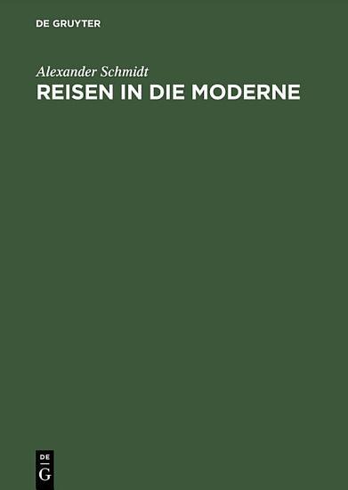 Reisen in die Moderne PDF