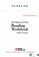 Glencoe Literature  Grade 12  Interactive Reading Workbook PDF