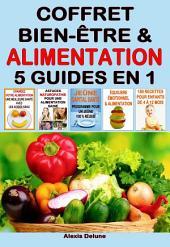 Coffret Bien-être & Alimentation: 4 eBooks en 1