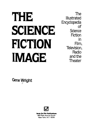 The Science Fiction Image PDF