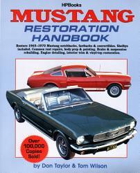 Mustang Restoration Handbook Book PDF