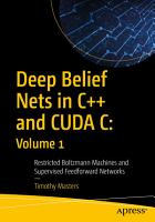 Deep Belief Nets in C   and CUDA C  Volume 1 PDF