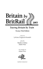 Britain by Britrail 2003
