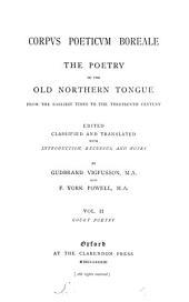 Corpus Poeticum Boreale: Court poems