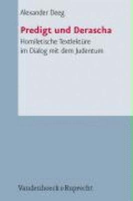 Predigt und Derascha PDF