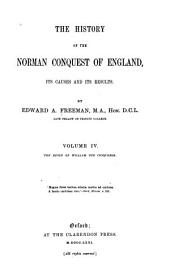 The reign of William the Conquereror. 1871