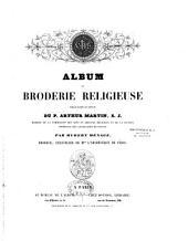 Album de broderie religieuse