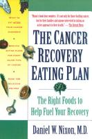 The Cancer Recovery Eating Plan PDF