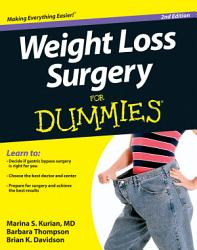 Weight Loss Surgery For Dummies Book PDF