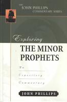 Exploring the Minor Prophets PDF