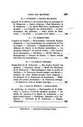 La peinture francaise au XIX siecle: Les chefs d'ecole: Louis David, Gros, Gericault, Decamps, Ingres, Eugene Delacroix