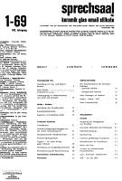 Sprechsaal PDF
