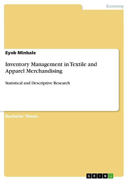 Inventory Management in Textile and Apparel Merchandising PDF