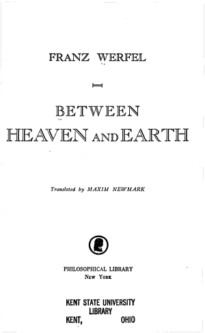 Between Heavean and Earth