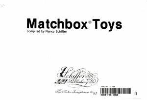 Matchbox Toys PDF