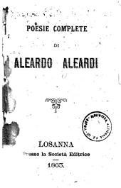 Poesie complete di Aleardo Aleardi
