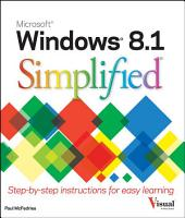Windows 8 1 Simplified