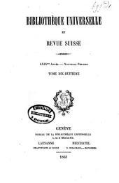 Bibliothèque universelle de Geneve: Volume22