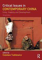 Critical Issues in Contemporary China PDF
