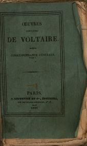 Oeuvres complètes de Voltaire: Correspondance, Volume10