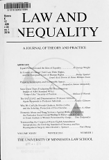 Law   Inequality PDF