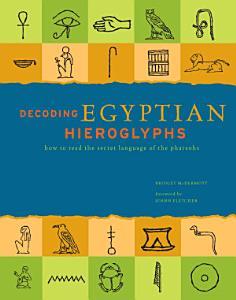 Decoding Egyptian Hieroglyphs Book