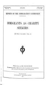 Immigrants as charity seekers