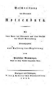 Beschreibung des königreichs Württemberg ...: Rottenburg