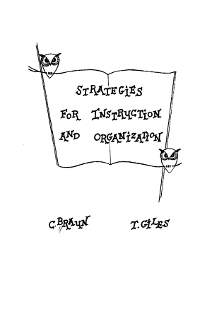 Strategies for Instruction and Organization PDF