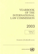 Yearbook of the International Law Commission 2003 PDF