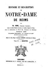 Histoire et description de Notre-Dame de Reims