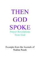 Then God Spoke PDF