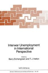 Interwar Unemployment in International Perspective