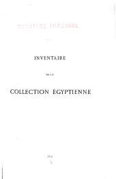 Ermitage impérial: inventaire de la collection égyptienne