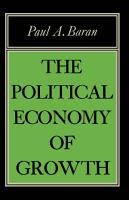 Political Econ of Growth PDF