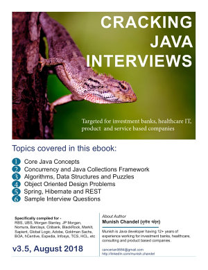 Cracking The Java Interviews Java 8 3rd Edition