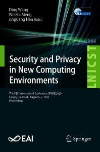 Security and Privacy in New Computing Environments