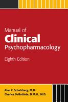 Manual of Clinical Psychopharmacology PDF