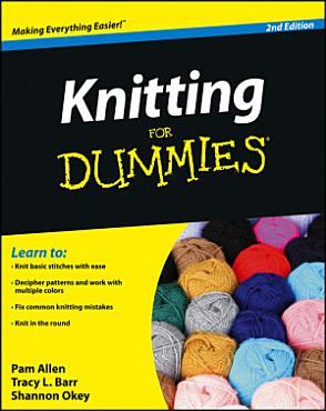 Knitting For Dummies PDF